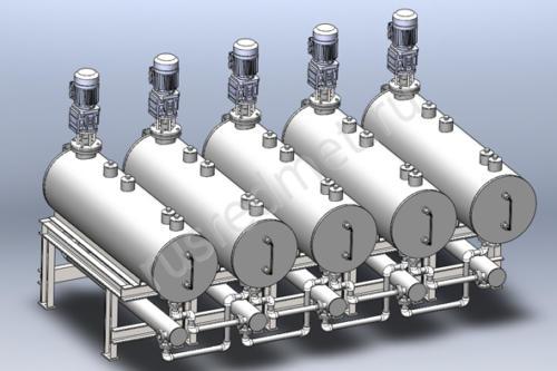 Экстрактор для извлечения РЗЭ 0,5 м3/час