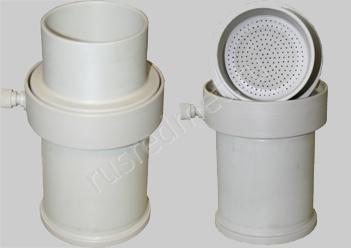 Лабораторный нутч-фильтр из полипропилена НФЛ-0,06-90 ПП