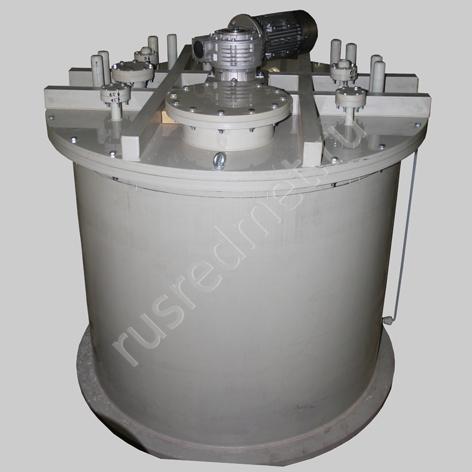 Реактор полипропиленовый РК-1,5 ПП 1500 л